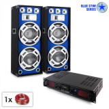 "Electronic-Star PA Set Blue Star Series ""Beatsound Bluetooth MP3"" 1500W"