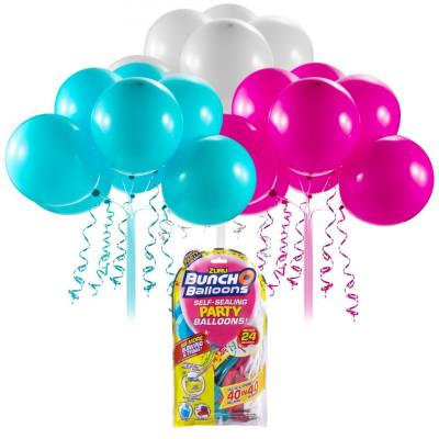 Rezerve baloane pentru petrecere Bunch O Balloons Refill Roz/Bleu/Alb foto