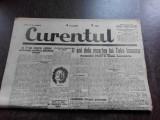 Ziarul Curentul , director Pamfil Seicaru , 20 iunie nr.1932/1933