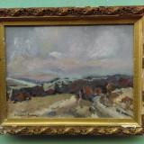 Pictura - peisaj semnat - Ionescu Doru, Peisaje, Ulei, Impresionism