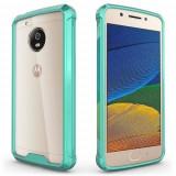 Husa Iberry Care Shockproof Mint Pentru Motorola Lenovo Moto G5 Plus, Verde, Carcasa