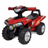 ATV pentru copii cu sunet și lumină, roșu, vidaXL