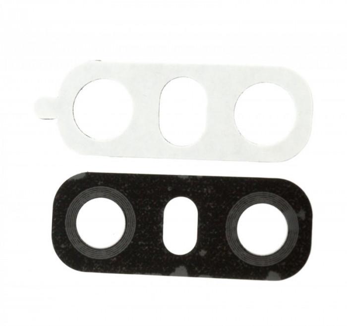 Geam Camera LG G6, Black