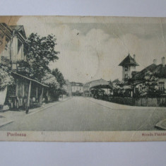 Pucioasa-Strada Fantani,carte postala circulata 1934