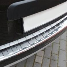 Ornament inox crom protectie bara portbagaj dedicat Dacia Duster 2009-2017