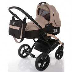 Carucior copii 2 in 1 cu landou Knorr-Baby Volkswagen Polo Cappuccino