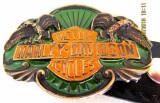 Catarama veche  Harley Davidson si curea din piele.Marca oficiala USA.
