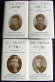 Emil Cioran - Opere (4 vol) Manuscrise, Publicistica, editie lux Academia Romana