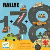 Joc de societate - Trasee si kilometri Rallye Djeco