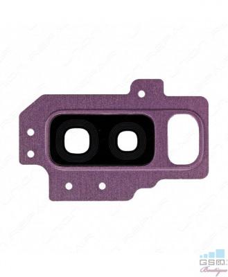 Geam Camera Samsung Galaxy S9 plus G965 Violet foto