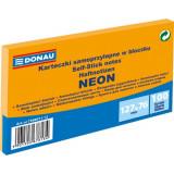 Cumpara ieftin Notite Adezive DONAU, 76x127 mm, 100 File, 70 g/m², Culoare Portocaliu Neon, Notes-uri, Post-it, Articole Hartie, Accesorii Birou