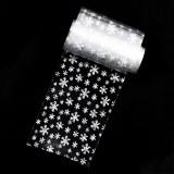 Folie de Transfer Unghii LUXORISE #83 Snowflake