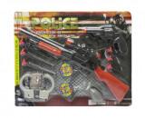 Set Arme, Police, pusca si pistol cu catuse , Multicolor,5 ani +