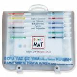 Cumpara ieftin Set planse pentru colorat, reutilizabile, 20 bucati, silicon, 40 X 30 cm