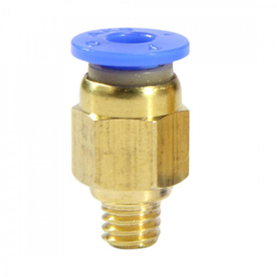 Conector pneumatic 1.75mm cu filet de 6mm (PC4-M6) foto