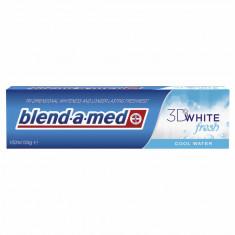 Blend A Med 3D Fresh White Cool Water 100 ML pasta de dinti