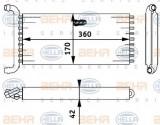 Radiator incalzire interior MERCEDES VIANO (W639) (2003 - 2016) HELLA 8FH 351 312-141