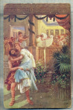 AD 273 C. P. VECHE -QUO VADIS ?- URSUS CARRIES AWAY LYGIA FROM THE -PATATA, Franta, Circulata, Printata