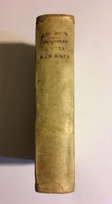 Cele două cărți ale lui SAMUEL - Vechiul Testament (BIBLIA Sacy, Paris - 1714) foto