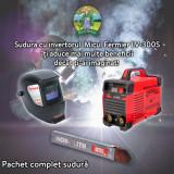 Pachet complet de sudura - Invertor + Masca automata + Electrozi, Micul Fermier
