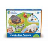 Set 5 figurine Animalute de la Zoo Learning Resources, 18 luni+