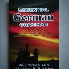 Essential german grammar (in limba engleza)
