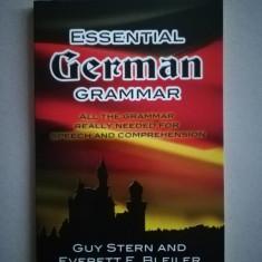 Essential german grammar (in limba engleza)
