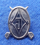 Insigna Militara insemn JANDARMI - Coifura insemn cascheta - Jamdarmerie