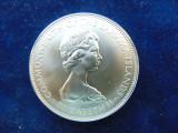 Moneda argint 5 Dolar 1972, Bahamas, piesa mare (cn115), Europa