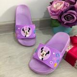 Cumpara ieftin Papuci mov de vara cu Minnie pentru copii fete 24 26 cod 0663