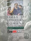 Limba si literatura romana pentru clasa a 9-a, Clasa 9, Limba Romana, Manuale