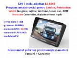 """GPS 7""""HD+Parasolar LodeStar, iGO PRIMO Full Europa 2020 setari pentru Camion/TIR, Toata Europa, Lifetime"""