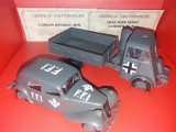 Macheta Set - Camion Renault Ahn + Traction avant Citroen 11 al  - Atlas 1:43
