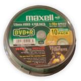 DVD+R 4.7GB MAXELL CAKE 10BUC Util ProCasa