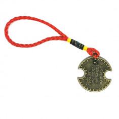 Amuleta cu moneda pentru avere si noroc-Lacatul Banilor sau moneda de incuierea a banilor