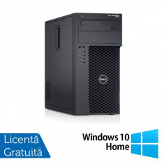 Workstation Dell Precision T1700, Intel Quad Core i5-4690 3.50GHz - 3.90GHz, 32GB DDR3, 512GB SSD + 2TB HDD, nVidia Quadro K2200/4GB, DVD-RW + Windows