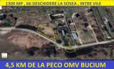 BUCIUM, la sosea , 650/1300mp,4,5 km de la OMV Bucium 12500 EURO PARCELA