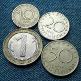 #16 - Lot 1 Lev 2002 + 10 + 20 + 50 Stotinki 1999 Bulgaria / Lot 4 monede leva, Europa