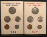 Cumpara ieftin Belgia 25 50 centi 1 5 10 franci 1971 ambele variante FR NL, Europa
