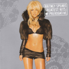 CD Britney Spears ‎– Greatest Hits: My Prerogative, original