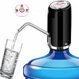 Pompa electrica pentru bidon apa, incarcare USB, 4W, LED, functie automata 600 ml