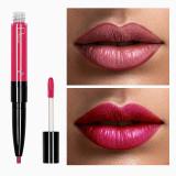 Ruj de buze si creion contur Pudaier, Nuanta 12 Pink