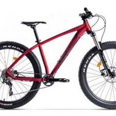 Bicicleta Pegas Drumuri Grele Pro L, Cadru 17inch, Roti 27.5inch, 10 Viteze (Rosu)