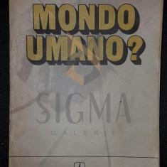 MONDO UMANO - DUMITRU CONSTANTIN