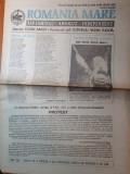 Ziarul romania mare 22 ianuarie 1993- art.marturii despre liviu rebreanu