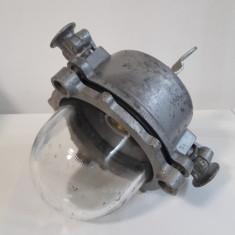 lampa veche industriala ELBA