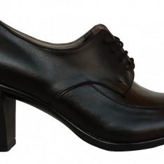 Pantofi dama cu toc Ninna Art 201 negru