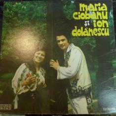 Maria Ciobanu si Ion Dolanescu - Pe sub dealul cu izvorul  - STM-EPE 0828 / 1974, VINIL