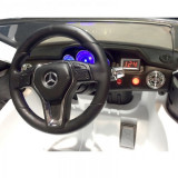 Masinuta electrica cu telecomanda si roti din cauciuc Mercedes Benz GLK-Class Rosie