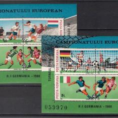 1988 - CE Fotbal, blocuri neuzate